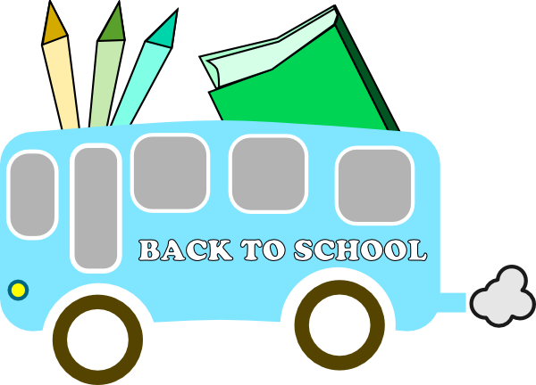 First Day Of School Clipart.