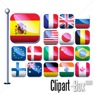 Castle Flag Clipart, Flags Free Clipart.