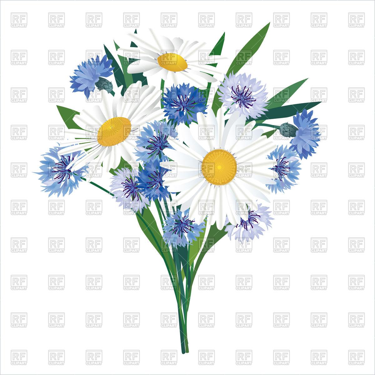 Flower bouquet Stock Vector Image.