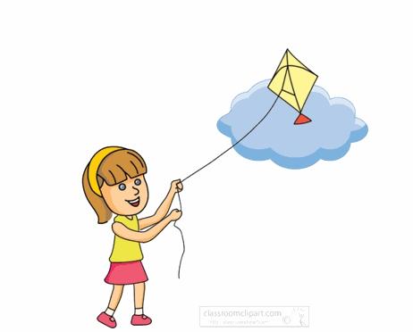 Kite Flying Clipart#2148392.
