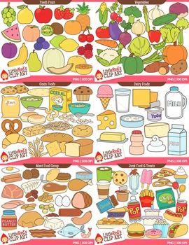 Food Clip Art Bundle.