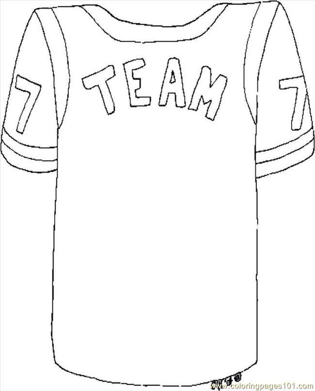 NFL Jersey Shirt Clipart.
