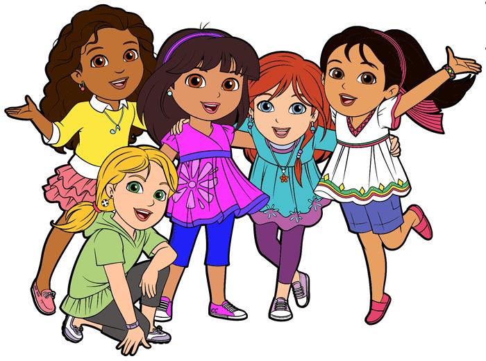 Dora and friends clipart images cartoon clip art 2.