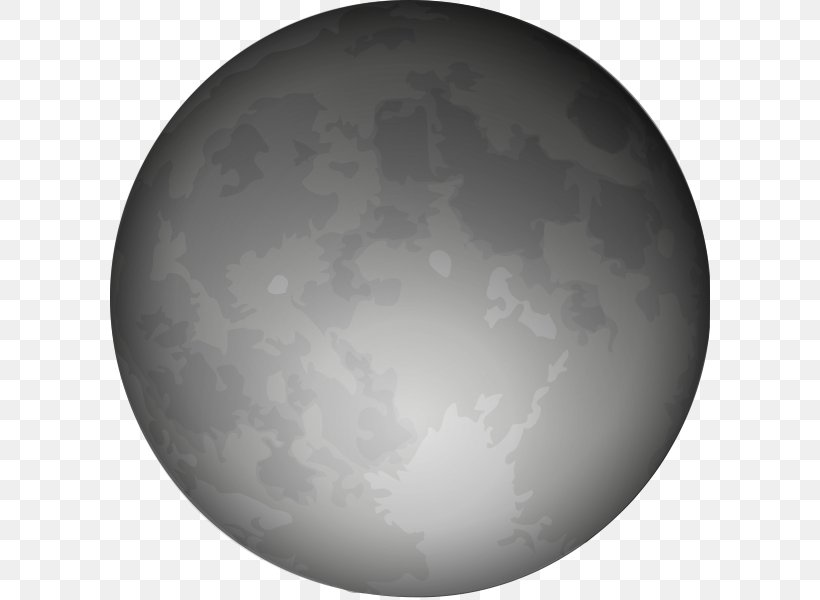 Full Moon Clip Art, PNG, 600x600px, Moon, Atmosphere, Black.