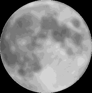 Full moon Clipart.