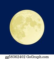 Full Moon Clip Art.