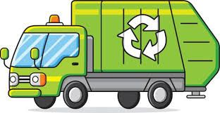 Library of recycling truck transparent stock png files.