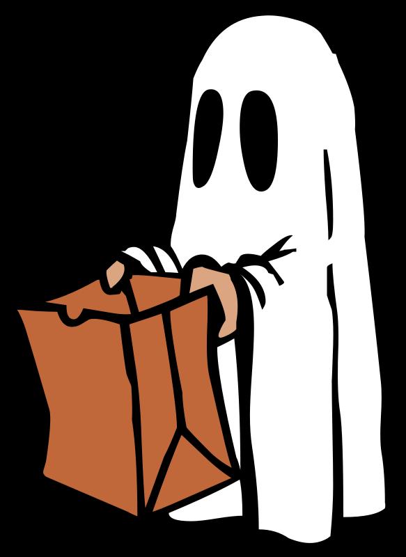 Halloween Ghost Clipart.