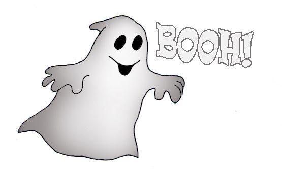 Halloween ghost clip art.