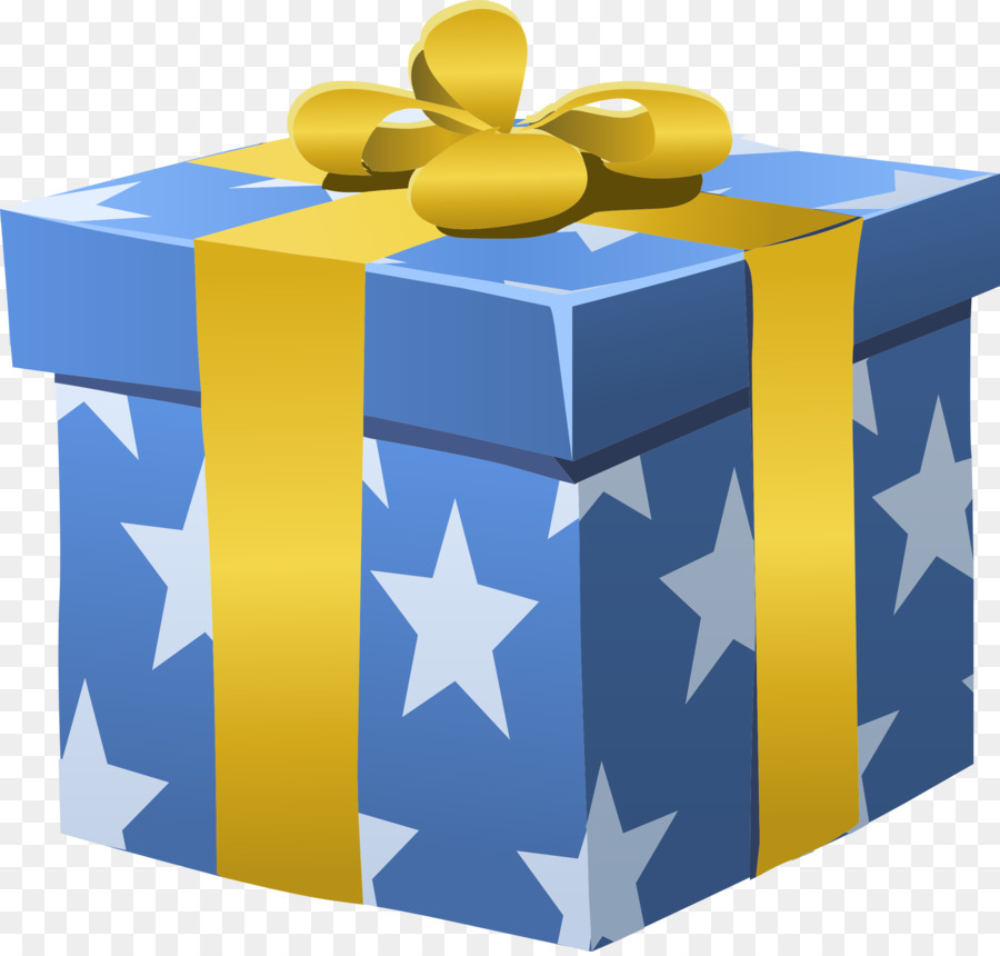 Birthday Gift Box clipart.