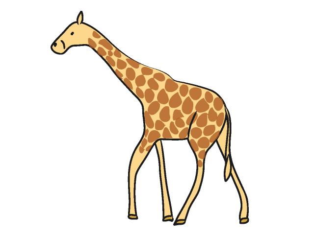 Giraffe Free Clipart.