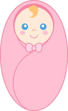Clipart Of Girl Born.