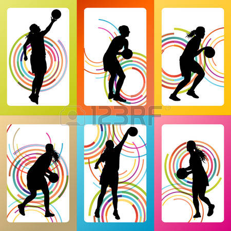 517 Girl Basketball Player Stock Illustrations, Cliparts And.