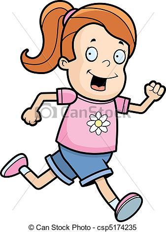 Girl running Clipart Vector Graphics. 12,243 Girl running EPS clip.
