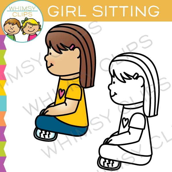 Similiar Girl Sitting Criss Cross Clip Art Keywords.