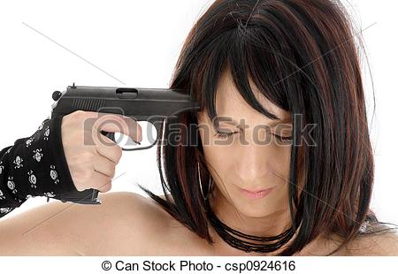 Stock Image of suicide.