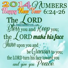 God Bless You This New Year Clipart.