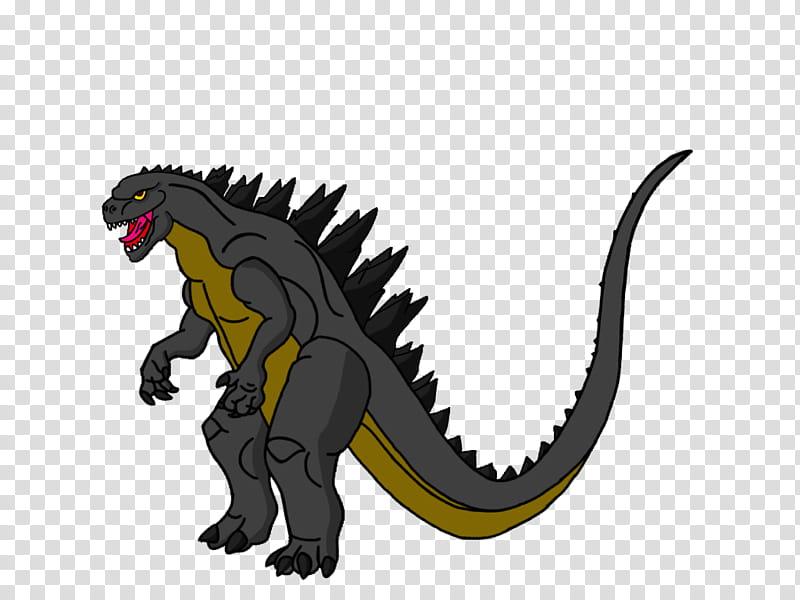 Godzilla transparent background PNG clipart.