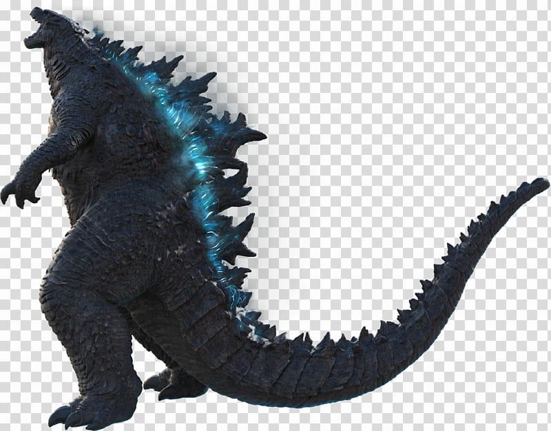 Godzilla Official render atomic glow transparent background.