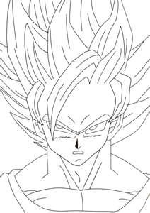 Clipart Of Goku.