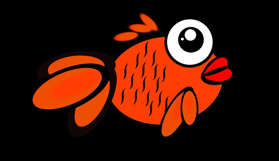 Free illustration: Fish, Gold, Gold Fish, Cartoon.