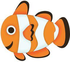 peces dibujados a color.