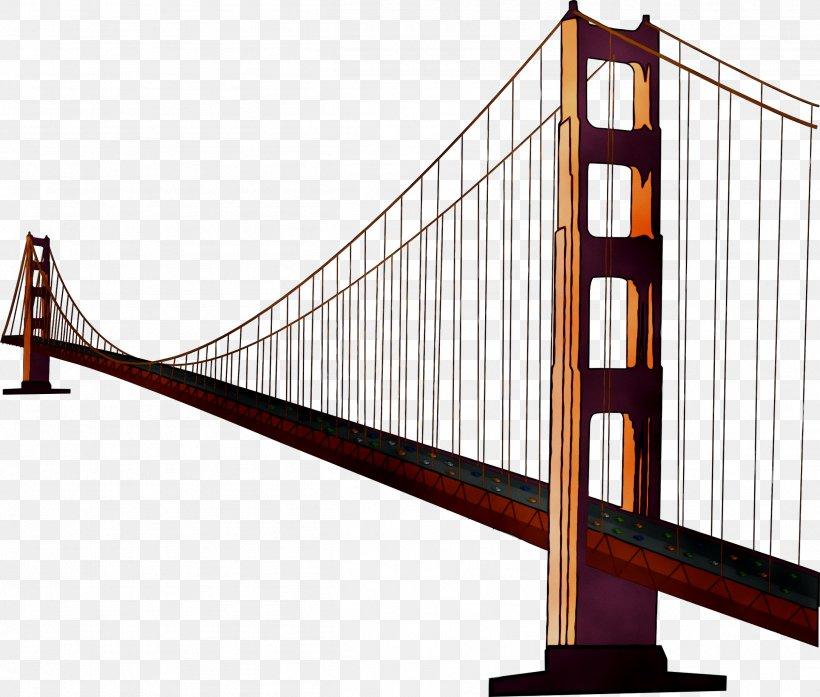 Golden Gate Bridge Suspension Bridge Image Clip Art, PNG.