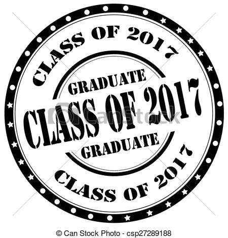 Free Class Of 2017 Clipart.
