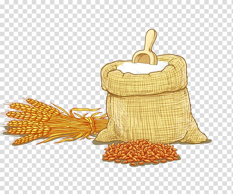 Grains , Wheat flour Cereal , Hand.