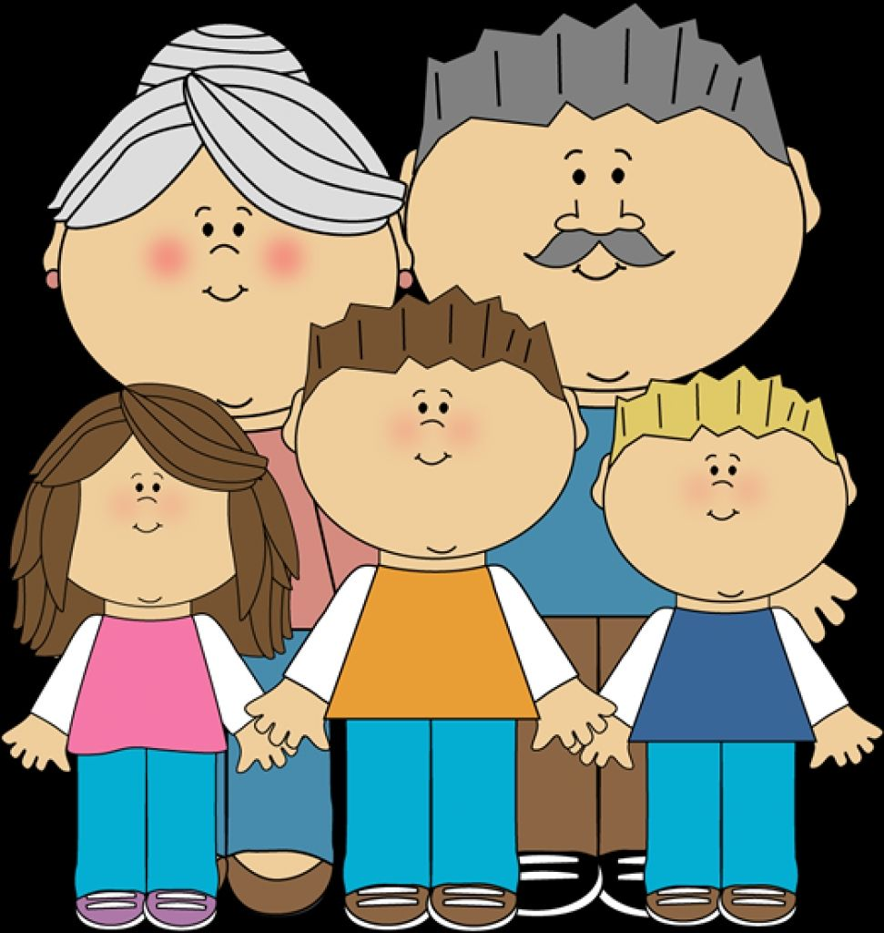 Grandparents+And+Grandchildren+Clip+Art+Image.