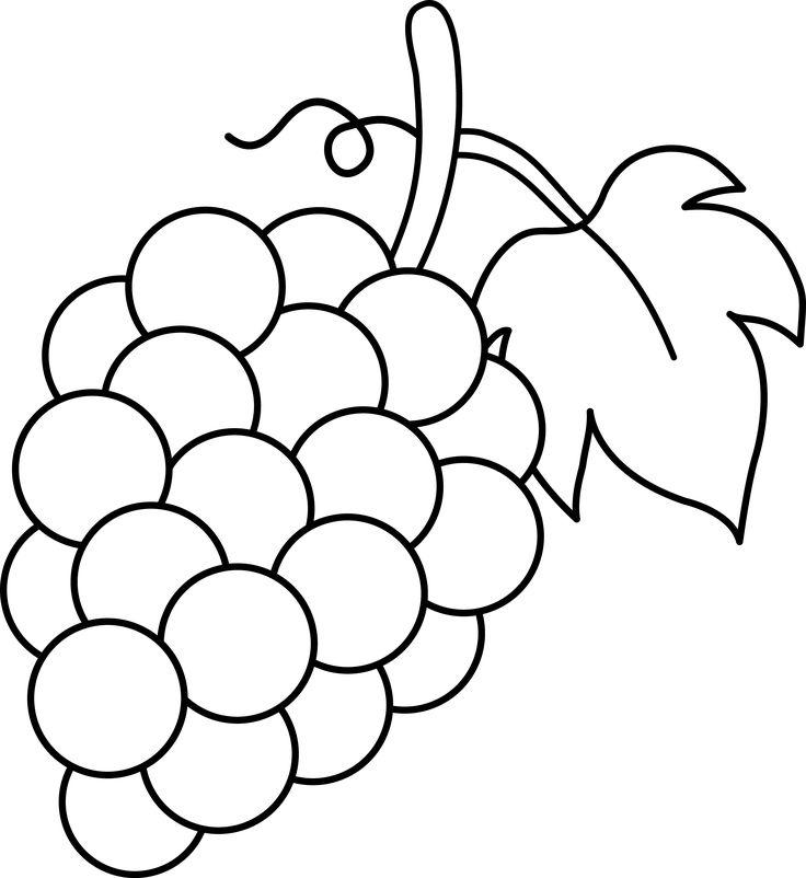 1452 Grape free clipart.