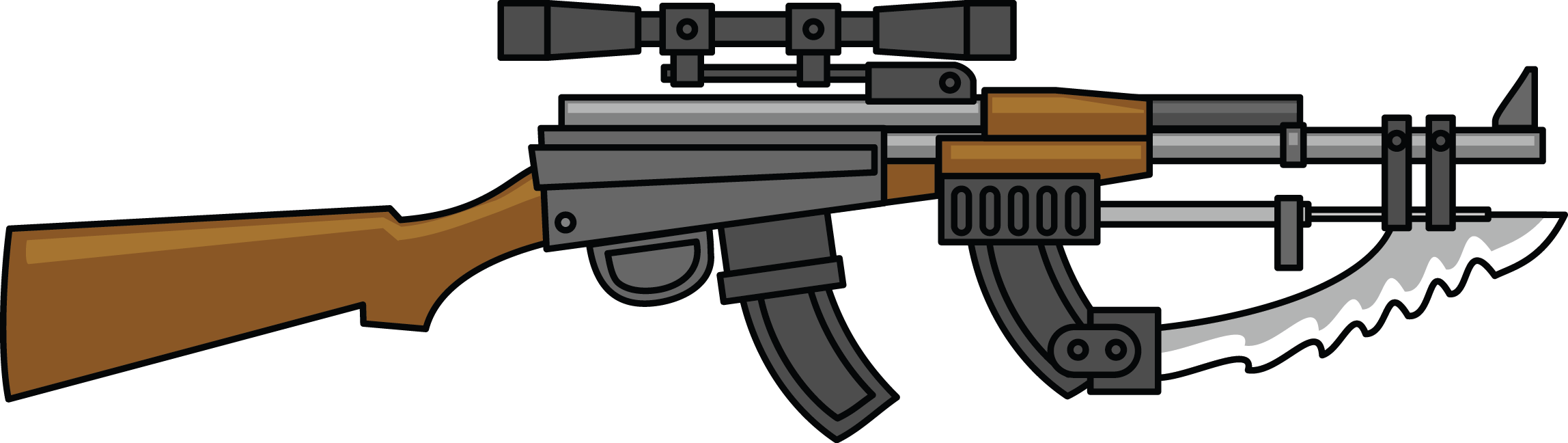 Free To Use Guns Clip art of Gun Clipart #1563 — Clipartwork.