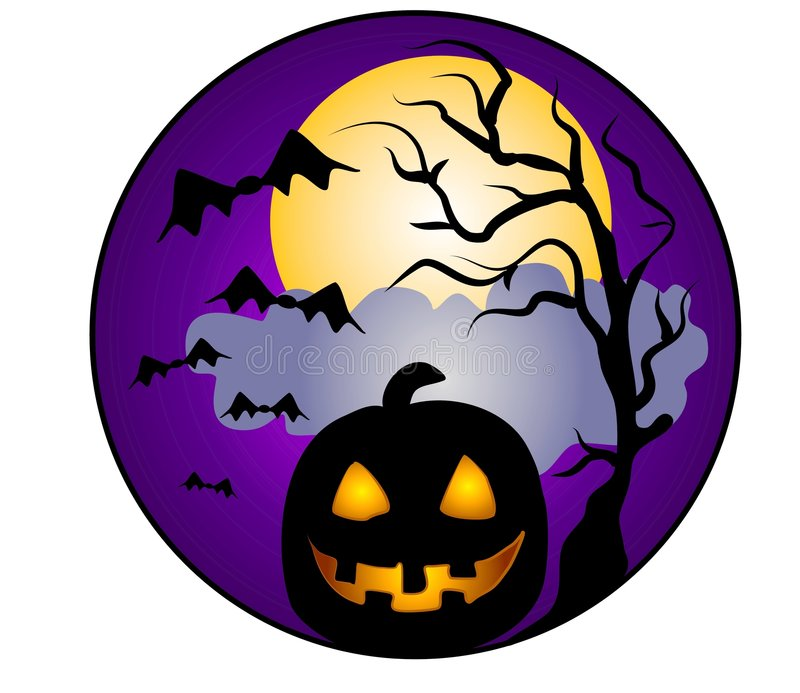 Halloween Pumpkin Clip Art stock illustration. Illustration of.