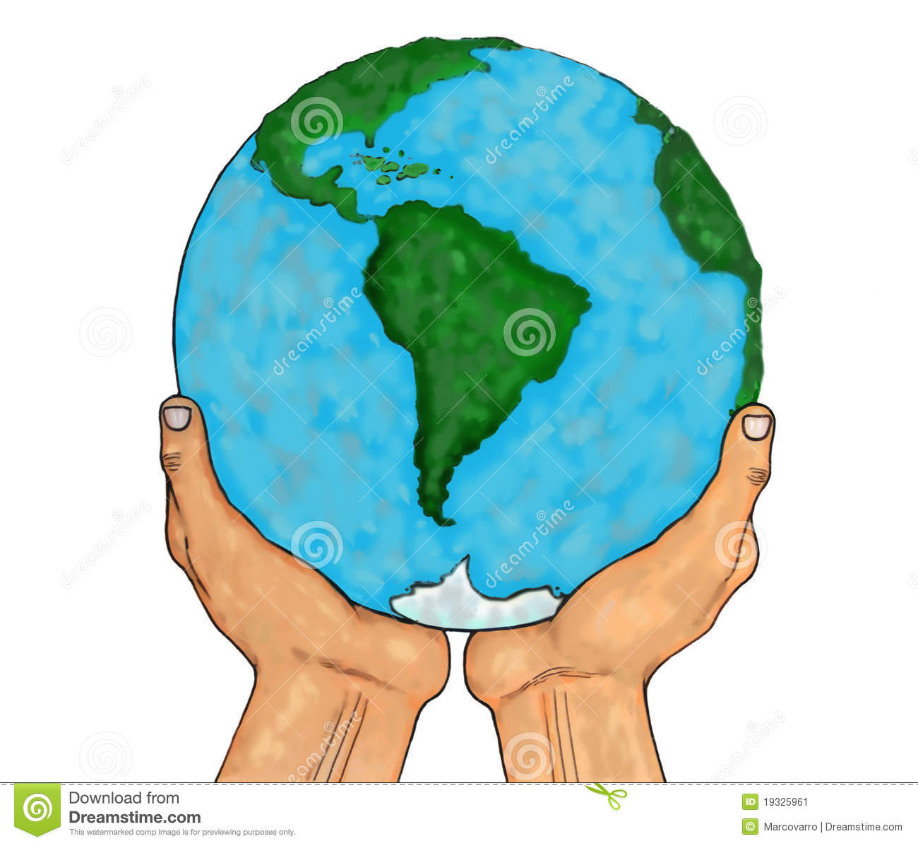Hands Holding World Clipart (47+).