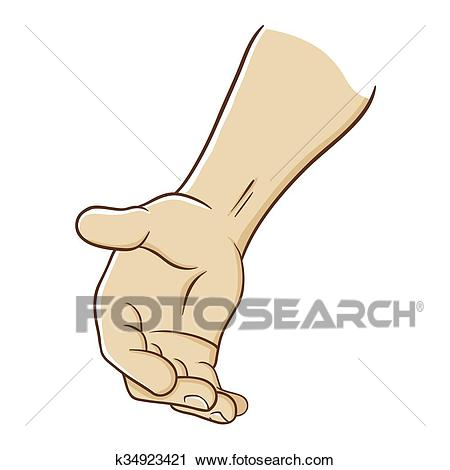 Hand Reaching Out To Offer Help Clipart.
