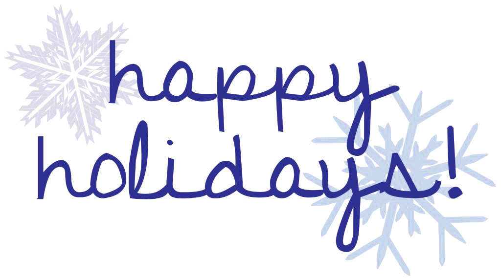Christmas Happy Holidays PNG Clipart.