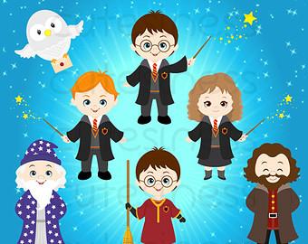 67 Free Harry Potter Clip Art.