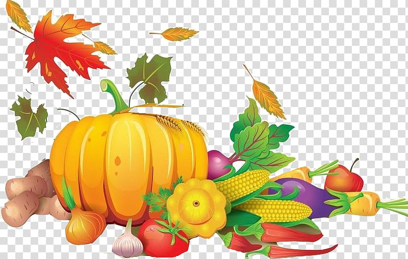 Harvest transparent background PNG clipart.