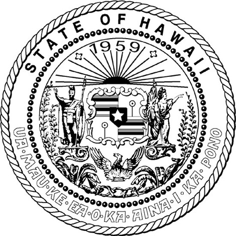 Clipart of hawaiis state tree clipground for Hawaii state tree coloring page