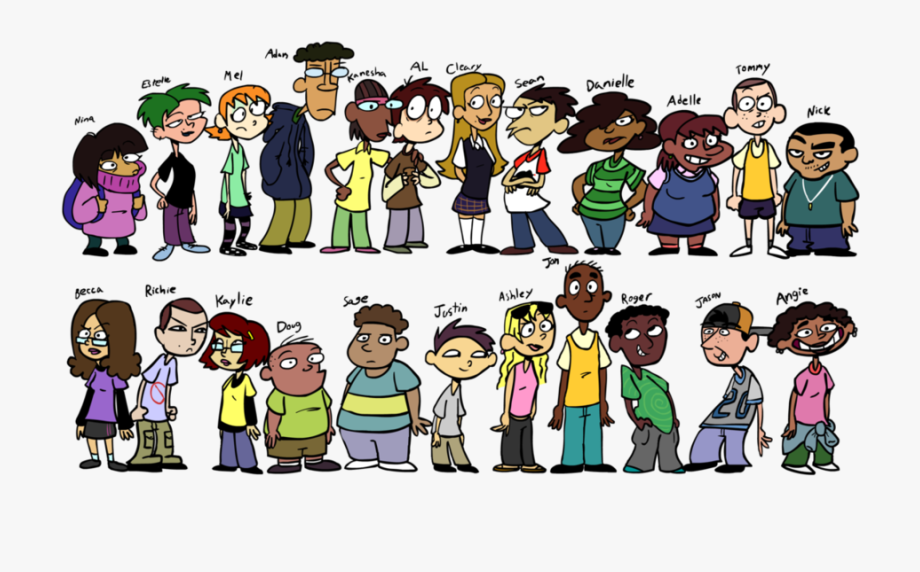Middle School Students Cartoon Clipart Middle School.