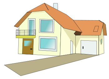 Free Homes Clipart.