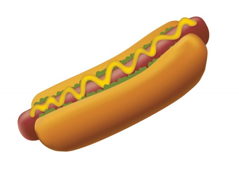 hot dogs clip art images.