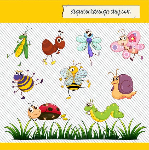 Cartoon+Bugs+Clip+Art.