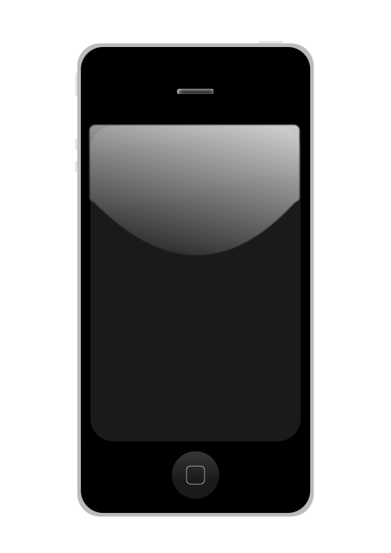 Clipart Iphone 7.