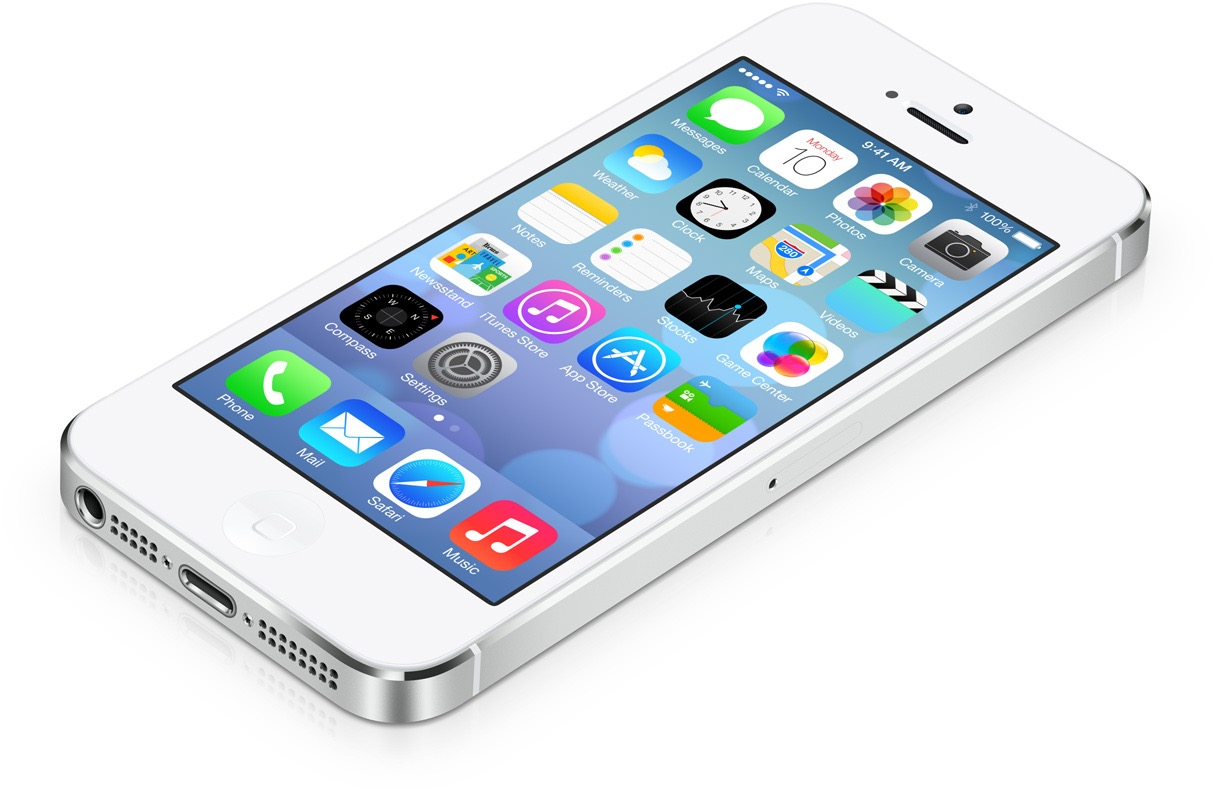 Ios 7 Iphone 5 Clipart.