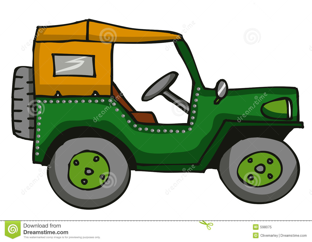 Jeep clipart 1 » Clipart Station.
