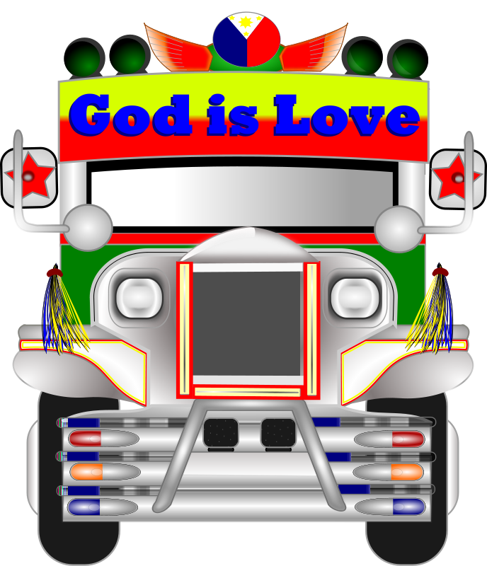 Free Clipart: Philippine Jeepney.