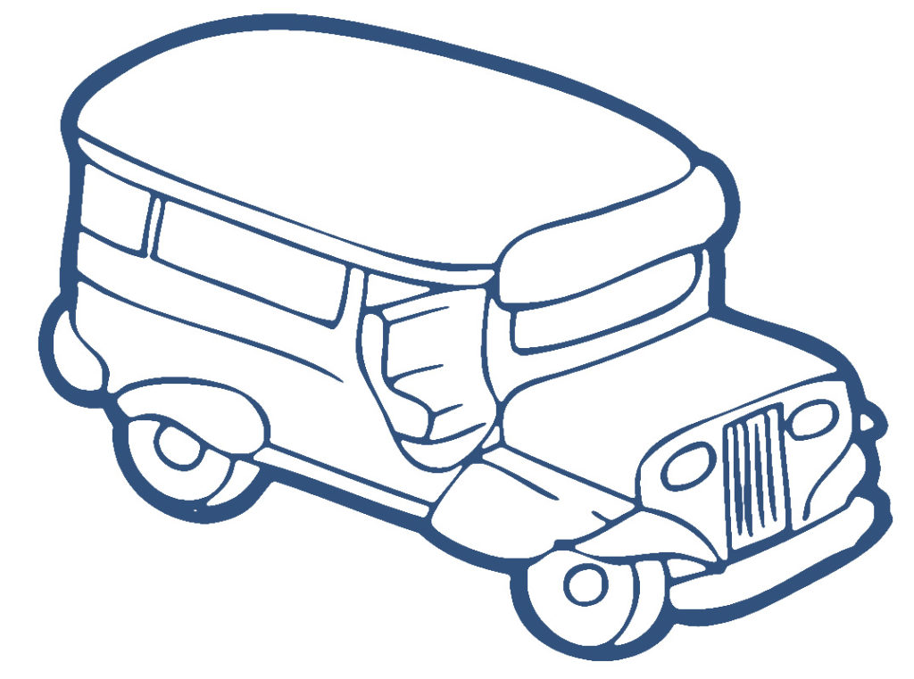 Jeepney Clipart Clipart Kid Jeepney Coloring Page In Coloring.