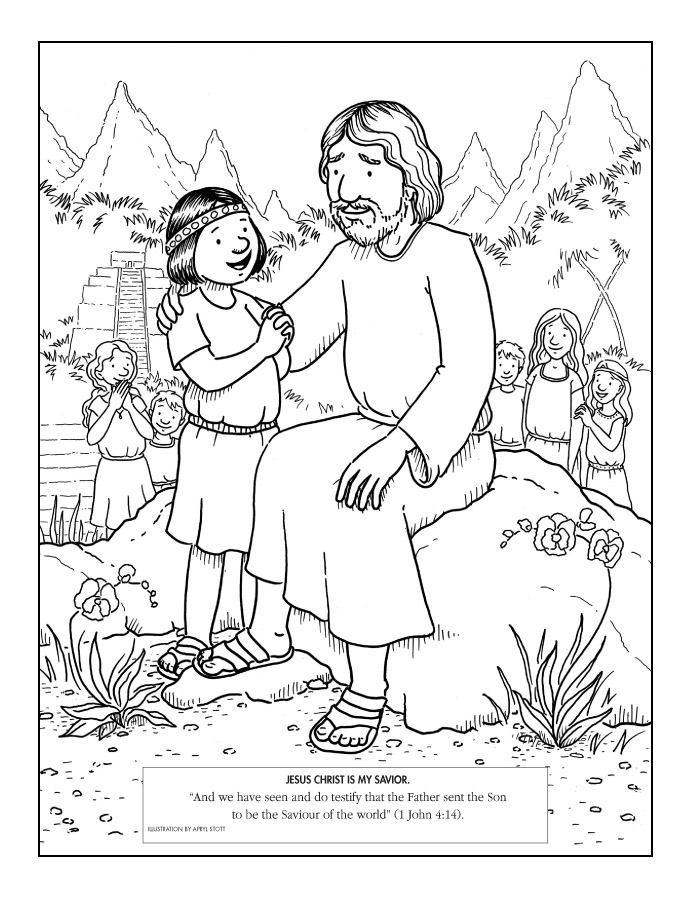 LDS Coloring Pages.