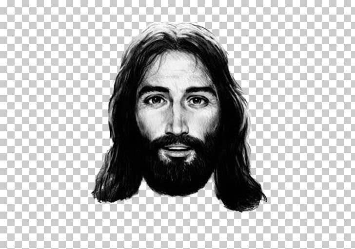 Holy Face of Jesus Drawing Shroud of Turin Sketch, Jesus PNG.